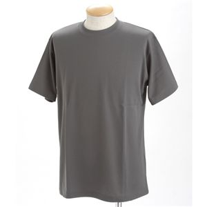 ドライメッシュポロ&Tシャツセット ダークグレー LL