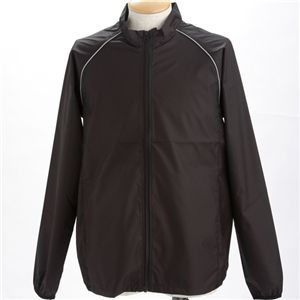 撥水透湿スポーツリフレクタージャケット  ブラック L