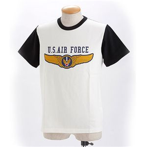 HOUSTON US.AIR.FORCE Tシャツ ブラック L