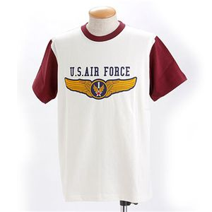 HOUSTON US.AIR.FORCE Tシャツ マローン L
