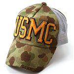 HOUSTON USMCメッシュキャップ ウッドランド