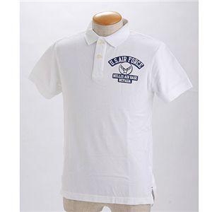 HOUSTON ミリタリーポロシャツ 【20394】 ホワイト L