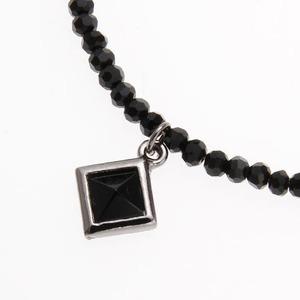 パワーストーン ブラックスピンネル ネックレス NC8 ピラミッド