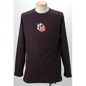 語れる立体和柄ロングTシャツ S-1542/鶴亀鯛 S