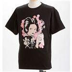 むかしむかし×マカロニほうれん荘 Tシャツ S-2668 【御用ほうれん荘】 M ブラック