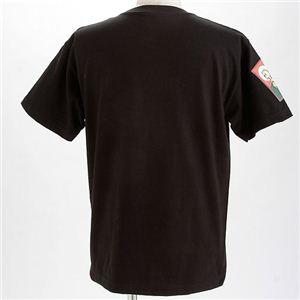 むかしむかし×マカロニほうれん荘 Tシャツ S-2669 【二十五才の決断】 L ブラック