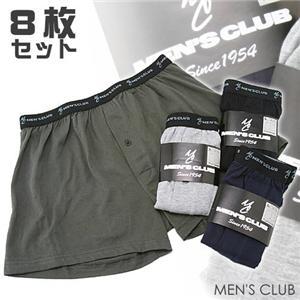 MEN'S CLUB ニットトランクス8枚セット LL