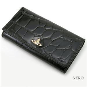 Vivienne Westwood 型押し長財布 EMPIRE 1032 NERO