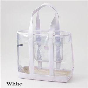 クリアトートバッグ 498TTE WHITE