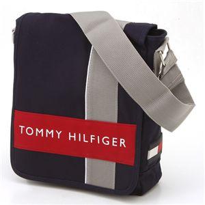 TOMMY HILFIGER(トミーヒルフィガー) 斜めがけショルダーバッグ ハーバーポイント2 500078-467 Navy×Red