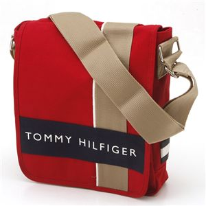 TOMMY HILFIGER(トミーヒルフィガー) 斜めがけショルダーバッグ ハーバーポイント2 500078-600 Red×Navy