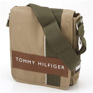 TOMMY HILFIGER(トミーヒルフィガー) 斜めがけショルダーバッグ ハーバーポイント2 500078-261 Khaki×Brown