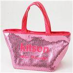 KITSON(キットソン) スパンコール ミニ トートバッグ 3553 ピンク/ピンク