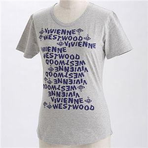 Vivienne Westwood(ヴィヴィアン ウエストウッド)レディース プリントTシャツ 【レディース・B】 グレーXS