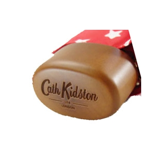 Cath Kidston(キャス・キッドソン) 折りたたみ傘 スターレッド