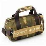 TOMMY HILFIGER(トミーフィルフィガー) マイクロミニダッフルバッグ MICRO MINI DUFFLE L200156-937・Camo
