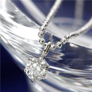 PT/0.15ctダイヤモンドプチネックレス