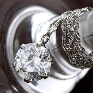 PT1ctダイヤモンドペンダント ネックレス