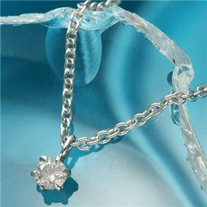 純プラチナ0.1ctダイヤモンドペンダント ネックレス