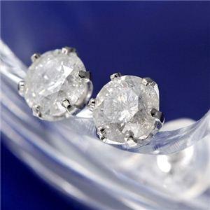 PT0.8ctダイヤモンドピアス