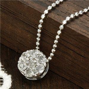 0.2ctダイヤモンド7ストーンペンダント ネックレス