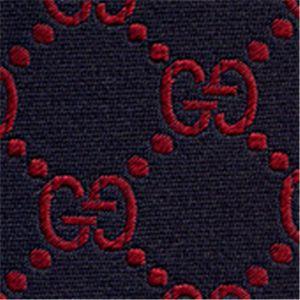 GUCCI(グッチ) シルクネクタイ 2010 春夏 Blue N-GUC-A01471