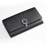 BVLGARI(ブルガリ) ロゴクリップ 長財布小銭入れ付き 30414 ブラック