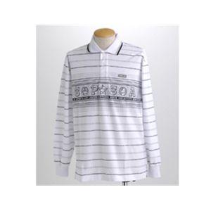 simpson ゴルフ長袖ポロシャツ 78329 ホワイト