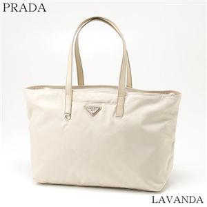 PRADA トートバッグ BR3254-VELA LAVANDA(ベージュ)