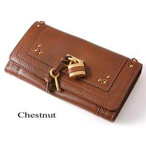 Chloe(クロエ) 長財布 P041 7E422 162 Chestnut