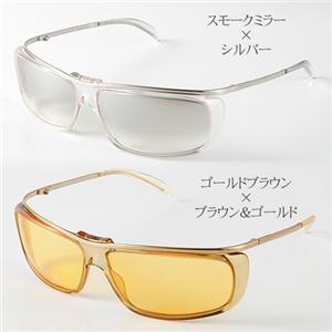 GUCCI サングラス GG1420/S-439U1/ゴールドブラウン×ブラウン&ゴールド