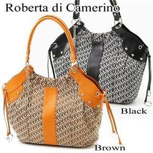 Roberta di Camerino(ロベルタ ディ カメリーノ)ショルダーバッグ 08-00401 ブラック
