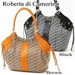 Roberta di Camerino(ロベルタ ディ カメリーノ)ショルダーバッグ 08-00401 ブラウン