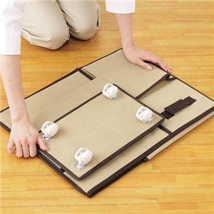 折り畳み式キャスター付収納ボックス