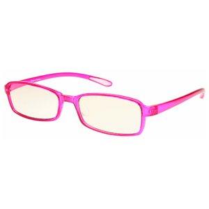 スイートアイ メラニンレンズ 度付きPC眼鏡 SE01 Raspberry ラズベリー ピンク +1.00