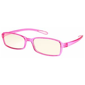 スイートアイ メラニンレンズ 度付きPC眼鏡 SE01 Rose ローズ ピンク +2.00