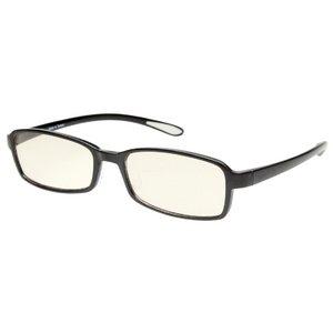 スイートアイ メラニンレンズ 度付きPC眼鏡 SE01 Plum プラム ブラック 黒 +2.00
