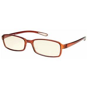 スイートアイ メラニンレンズ PC眼鏡 SE01 Mocha モカ ブラウン 茶色