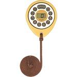 SEIKO CLOCK(セイコークロック) デジタル時計 ピピタイマー MT603B 薄ブラウン