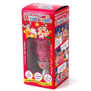 誕生日のお祝いに!どりきゃん(Dream Candle)【2個セット】