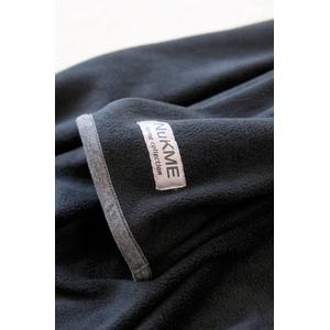 着るブランケット NuKME(ヌックミィ) 袖付き毛布 ブラック