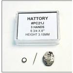 腕時計パーツ ウォッチムーブメント SEIKO(セイコー)用 HATTORY PC21J 3個組