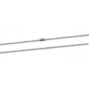【10本組】ステンレス製ネックレス ボールチェーン幅2.4mm/全長70cm