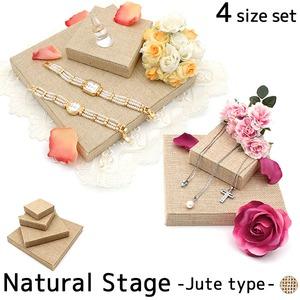 ナチュラルステージ・4段セット-ジュートタイプ-