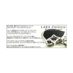 LARA Christie(ララクリスティー) サザンクロスネックレス[BLACK Label]
