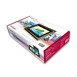 トランセンド デジタルフォトフレーム T.photo 710(TS1GPF710) SDカード1G(TS1GSDC)が付いてくる♪