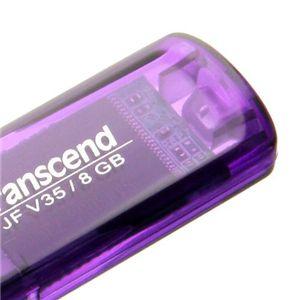 Transcend スケルトンUSBメモリー 8GB V35