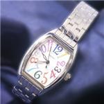 ジョルジュレッシュ 婦人 3針メタル腕時計 GR-14002-05 ホワイト(カラー)