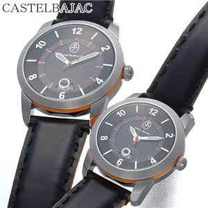 CASTELBAJAC(カステルバジャック) レザーウォッチ JCC-011L-03/ホワイト・レディース