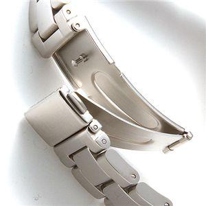 ficce(フィッチェ) メンズ オートマ スケルトン レトログラード ブレスウォッチ 11038-01/シルバー